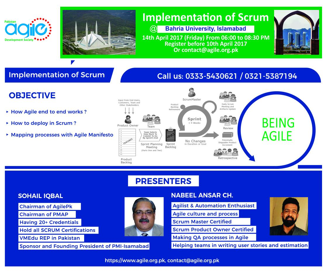 Workshop - Implementation of SCRUM
