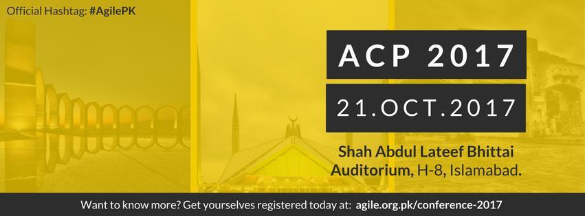 ACP2017 - Agile Conference Pakistan
