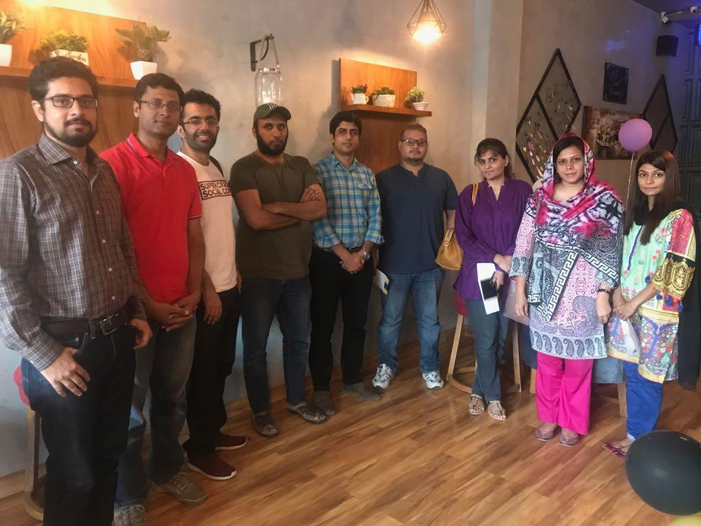 2018 - LHR : 6th Meet up